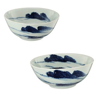 Decorative Ceramic Bowls (Set of 2)