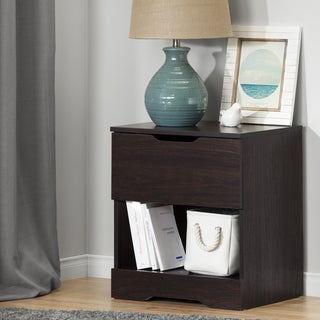 South Shore Holland 1-Drawer Nightstand
