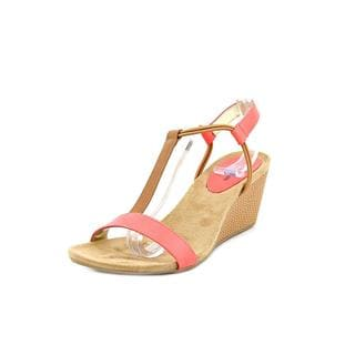 Style & Co Women's Mulan Pink Wedge Sandals