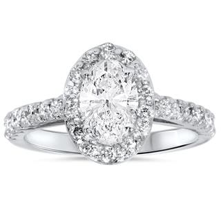 14k White Gold 1 1/2ct Oval Diamond Halo Engagement Ring https://ak1.ostkcdn.com/images/products/11868204/P18767144.jpg?impolicy=medium