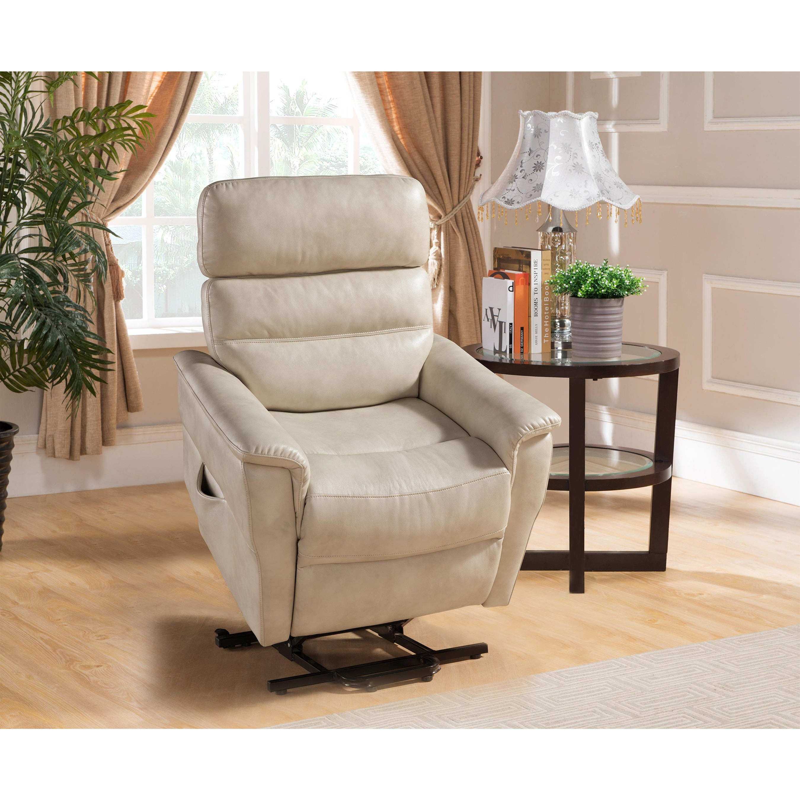 Shop Avery Small Power Reading Recliner Lift Chair - Free ...