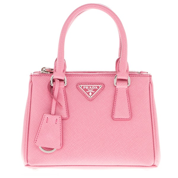 29e024b6c45f 9cad9 da08d italy prada galleria pink saffiano leather mini bag 288e3 bb184  ...