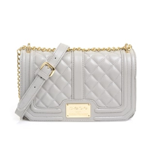 BEBE Marie Quilted Crossbody Handbag