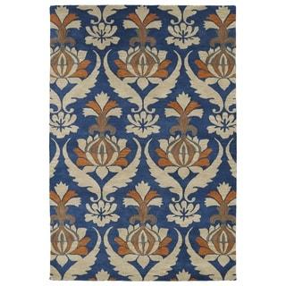 Hand-Tufted Seldon Blue Vase Rug (9' x 12')