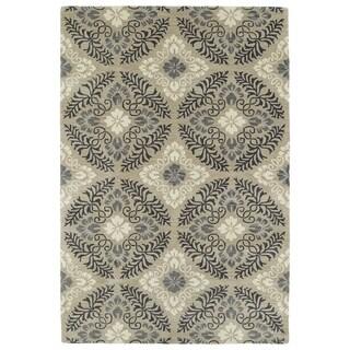 Hand-Tufted Seldon Mushroom Floral Rug (8'0 x 10'0)