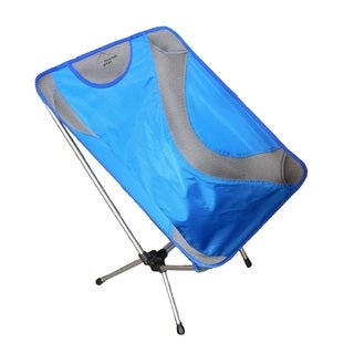 Sportsman Supply Alpine Mountain Gear Blue Mesh and Aluminum Ultra-light Chair