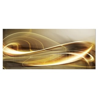 Designart 'Elegant Modern Sofa' Abstract Digital Metal Wall Art