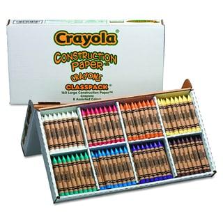 Crayola Construction Paper Crayons (160 per Box)