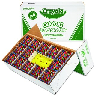 Crayola Classpack Regular Assorted Crayons (832 per Box)