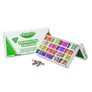 Crayola Classpack Triangular Crayons (256 per Box)