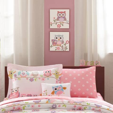 Mi Zone Kids Nocturnal Nellie Multi Printed MDF Box Set Of 2