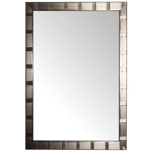 Christopher Collection Silver-lined Rectangular Wall Mirror