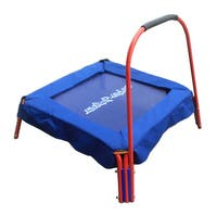 Super Jumper Red and Blue Padded Handle Children's Trampoline