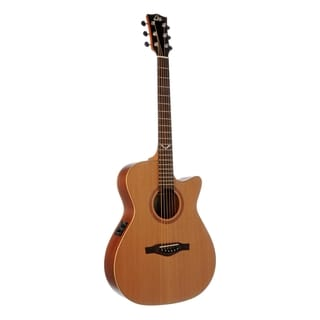 Eko Guitars 06217059 Evo Series Auditorium Cutaway Acoustic-Electric Guitar
