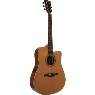 Eko Guitars 06217057 EVO Series Dreadnought Cutaway Wooden Acoustic/Electric Guitar