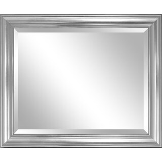 Porch & Den Paseo Elevation Silver Aluminum Wall Mirror