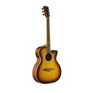 Eko Guitars 06217106 TRI Series Auditorium Cutaway Honey Burst Acoustic Electric Guitar