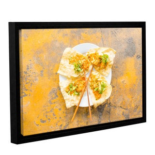 Andrew Lever's 'Vietnamese Food' Gallery Wrapped Floater-framed Canvas