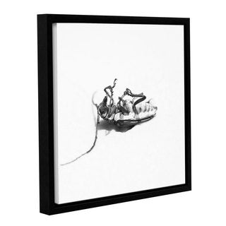 Andrew Lever's 'Upside Down' Gallery Wrapped Floater-framed Canvas