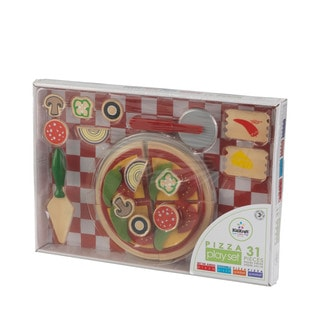 KidKraft Mulit-color Polyester Solid Microfiber 60-inch x 30-inch Pizza Play Set
