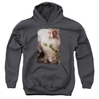The Hobbit/Balin Youth Pull-Over Hoodie in Charcoal