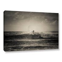Andrew Lever's 'Ride a Wave`' Gallery Wrapped Canvas