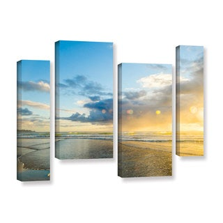 Andrew Lever's 'Calmness' 4-piece Gallery Wrapped Canvas Staggered Set