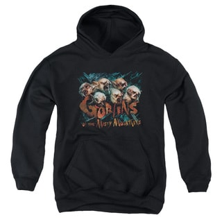 The Hobbit/Misty Goblins Youth Pull-Over Hoodie in Black