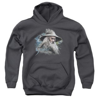 The Hobbit/Gandalf The Grey Youth Pull-Over Hoodie in Charcoal