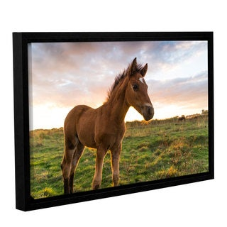 Andrew Lever's 'Foaly' Gallery Wrapped Floater-framed Canvas