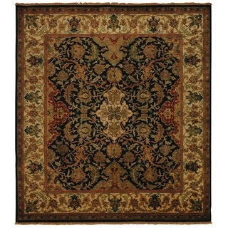 European Polonaise Cream/ Beige New Zealand Wool Rug (12' x 15')