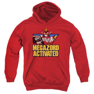 Power Rangers/Megazord Activated Youth Pull-Over Hoodie in Red
