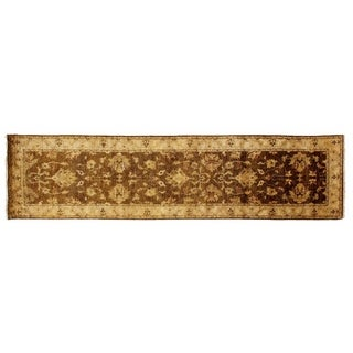 Ziegler Beige/ Ivory New Zealand Wool Runner Rug (2'6 x 10')