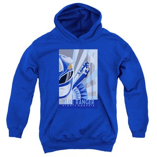 Power Rangers/Blue Ranger Deco Youth Pull-Over Hoodie in Royal