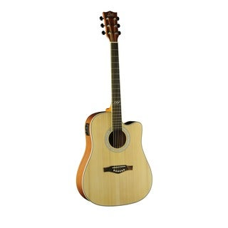 Eko Guitars 06217084 TRI Series Dreadnought Cutaway Acoustic/Electric Guitar