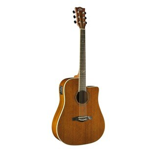 Eko Guitars DUO Series Dreadnought Cutaway Electric-acoustic Guitar