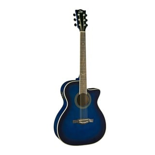 Eko Guitars 06217022 NXT Series Auditorium Cutaway Blue Sunburst Acoustic-electric Guitar