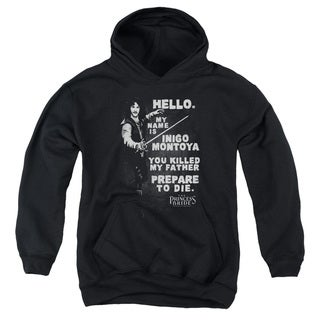 Princess Bride/Hello Again Youth Pull-Over Hoodie in Black