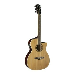Eko Guitars NXT Series Auditorium Cutaway Natural Electric-acoustic Guitar