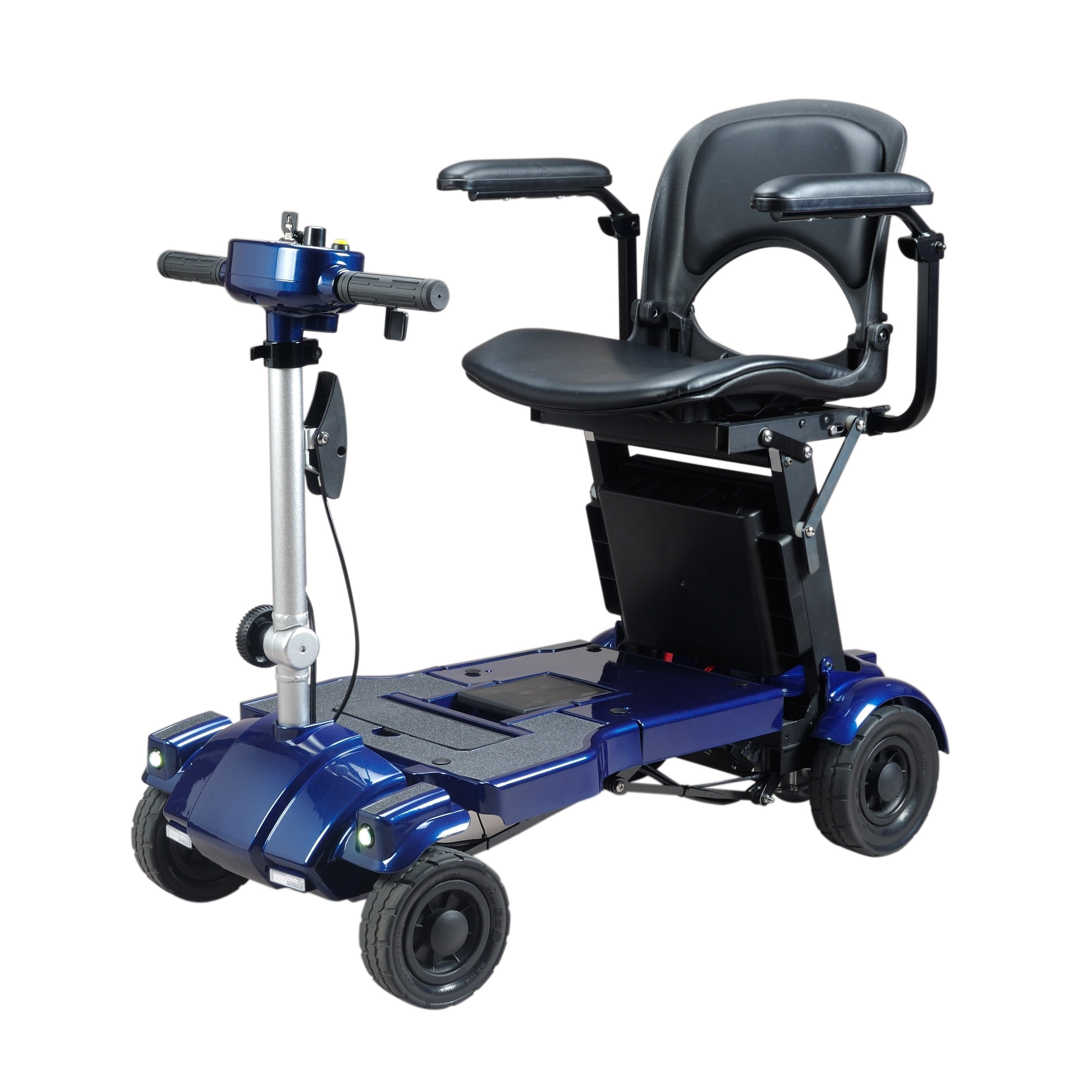 USA iLIVING i3 Foldable Electric Mobility Scooter (Blue)