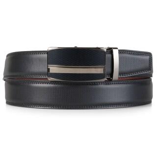 Vance Co. Mens Soft Genuine Leather Adjustable Ratchet Belt