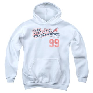 Major League/99 Youth Pull-Over Hoodie in White