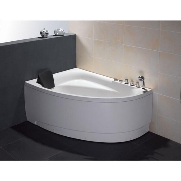 Shop Eago Am161 R White Acrylic 5 Foot Whirlpool Bath Tub