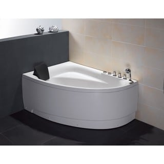 EAGO AM161-R White Acrylic 5-foot Whirlpool Bath Tub