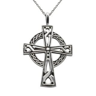Haven Park Celtic Cross Pendant Necklace - Silver