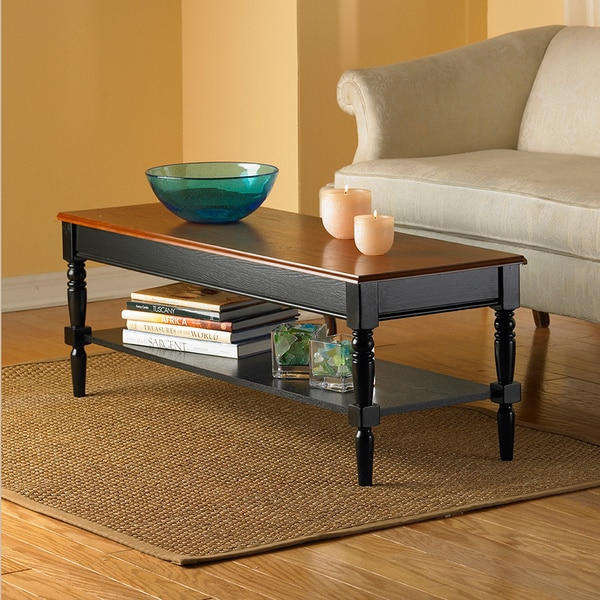 French Country Coffee Table And End Tables