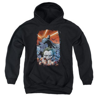 Batman/Detective Comics #1 Youth Pull-Over Hoodie in Black