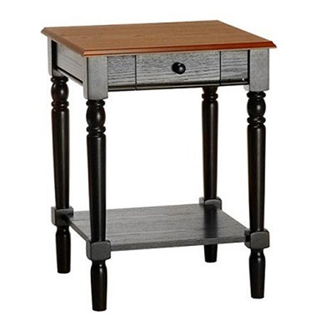 Convenience Concepts French Country End Table with Drawer...