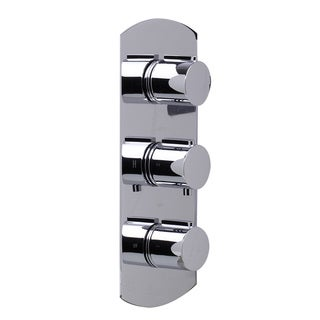 ALFI Polished Chrome 3-Way Thermostatic Shower Mixer