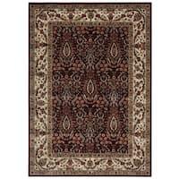 Nourison Persian Arts Burgundy Rug (9'6 x 13') - 9'6 x 13'